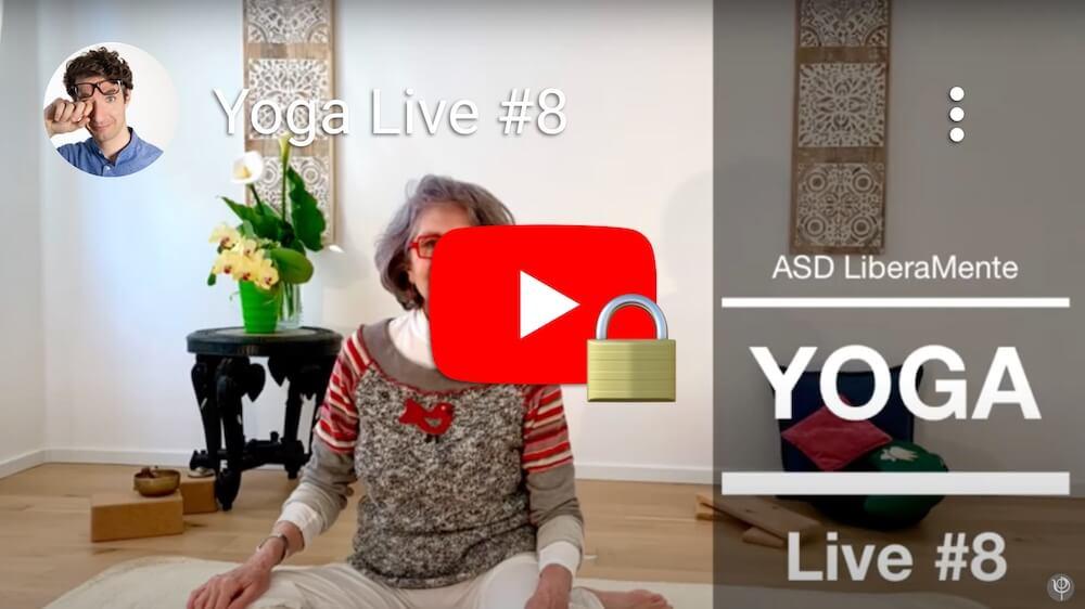 Yoga diretta Facebook #8