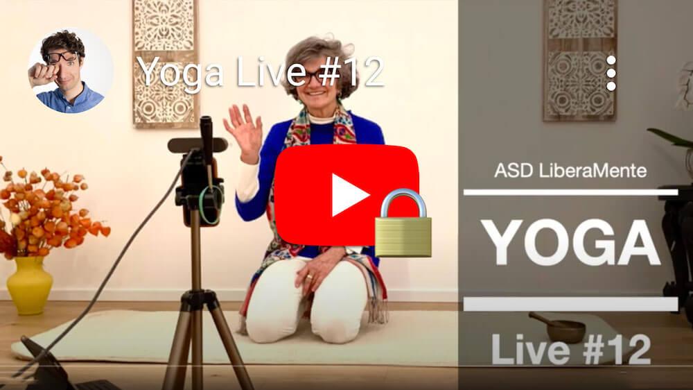 Video Yoga in diretta #12