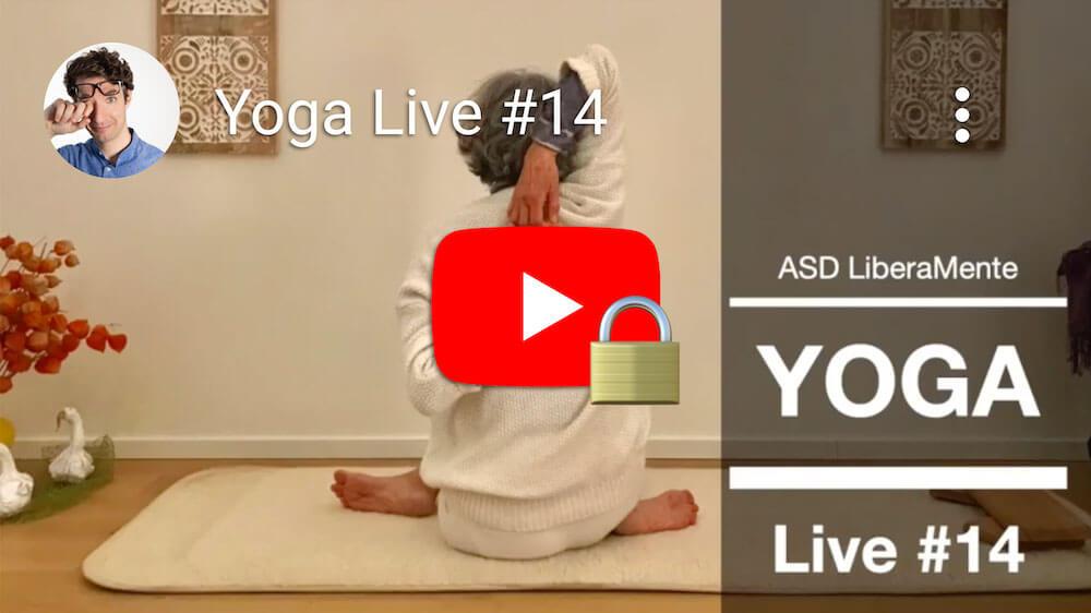 Video Yoga in diretta #14