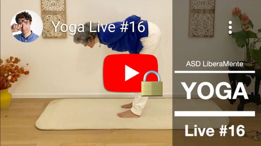 Video Yoga in diretta #16